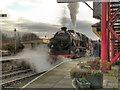 SD7916 : Steam at Ramsbottom by David Dixon