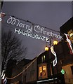 SE3055 : Merry Christmas, Harrogate by Derek Harper