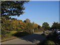 SU9585 : Car park and drive by Shaun Ferguson