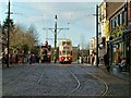 NZ2155 : Main Street, The Town, Beamish Museum by Paul Buckingham