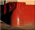 J3374 : Corner protection, Belfast (3) by Albert Bridge