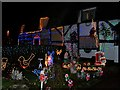 SP3969 : Eathorpe Christmas Lights by Susan Vickery