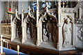 TL6600 : Reredos, St Margaret's church, Margaretting by Julian P Guffogg