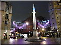 TQ3081 : London: Seven Dials at Christmastime by Chris Downer