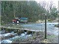 SK2066 : Tractor and wagon , Lathkill Dale by Peter Barr