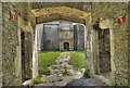 ST0072 : Beaupre Castle Courtyard by Guy Butler-Madden