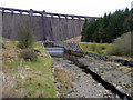 SN8663 : Claerwen Dam, Elan Valley, Mid-Wales by Christine Matthews