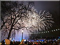 TQ3079 : London: New Year fireworks (1) by Chris Downer