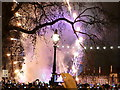 TQ3079 : London: New Year fireworks (5) by Chris Downer