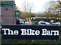 SJ8192 : Bike Barn sign at Jackson's Boat, Sale by Phil Champion