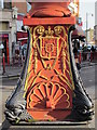 TQ2183 : Queen Victoria Jubilee (1887) Clock, Harlesden - ornate base by Mike Quinn