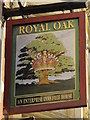 TQ2183 : (Another) sign for The Royal Oak, High Street / Park Parade, NW10 by Mike Quinn