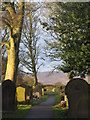 SK2796 : Bolsterstone churchyard by Dave Pickersgill