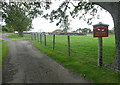 NZ8400 : Entrance to Partridge Hill Farm by Graham Horn