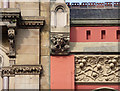SJ8498 : Detail of 77-83 Piccadilly, Manchester (1) by Stephen Richards