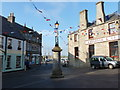 HU4741 : Lerwick: the market cross on a sunny evening by Chris Downer