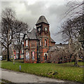 SJ8395 : Chorlton Lodge, Alexandra Park by David Dixon