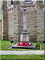 SJ8395 : St Edmunds Church War Memorial, Alexandra Road South, Whalley Range by David Dixon