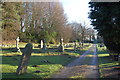 TL9863 : Elmswell Cemetery by John Myers