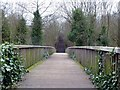 SE3506 : Footbridge to the Dearne Valley Park by Graham Hogg