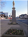 SJ7892 : Sale War Memorial by David Dixon