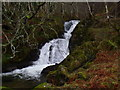 NN6248 : Small fall in the course of Allt Bhrachain in Glen Lyon by ian shiell