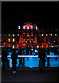 TQ3080 : Seasonal ice rink, Somerset House by Julian Osley