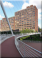 SJ8398 : Trinity Bridge, Chapel Wharf, Salford by Stephen Richards