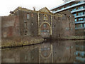 SJ7689 : Canalside Warehouse by David Dixon