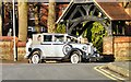 SJ9395 : Wedding car at St Anne's by Gerald England