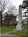 TQ2080 : Obelisk in Acton Park by Alan Murray-Rust