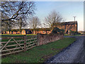 SJ7684 : Ashley Hall Farm by David Dixon