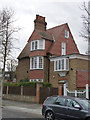 TQ2179 : 1, Woodstock Road, Bedford Park by Alan Murray-Rust