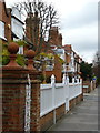TQ2178 : 1 and 2 Rupert Gardens, Bedford Park by Alan Murray-Rust