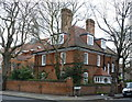 TQ2178 : The Vicarage, Bedford Park by Alan Murray-Rust