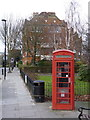 TQ2178 : K6 telephone kiosk, Bedford Park by Alan Murray-Rust