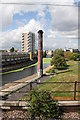 TQ3681 : Chimney beside Regent's Canal by Roger Templeman