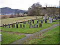 NG8227 : Churchyard, Kirkton Church by Richard Dorrell