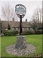 TL7190 : Village sign, Feltwell by Hugh Venables