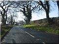 SJ8873 : Pexhill Road near Henbury Farm by Peter Whatley