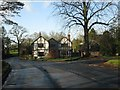 SJ7868 : House at the lane junction, Twemlow Green by Peter Whatley