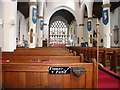 SY9287 : Interior, Lady St. Mary Church, Wareham by Kenneth  Allen
