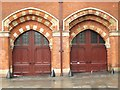 TQ3083 : The east side of (the old part of) St. Pancras Station - detail (2) by Mike Quinn