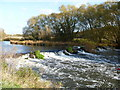 SP1953 : Weir on the river by Michael Dibb