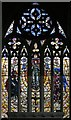 TQ3676 : St James, St James's, Hatcham - Stained glass window by John Salmon