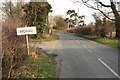 SK8573 : Roadwood Lane, Thorney by Richard Croft