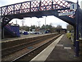 TQ0047 : Shalford railway station by Stacey Harris