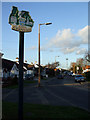 TQ5786 : Cranham Village Sign by terry joyce