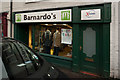 SJ7578 : Barnardo's Charity Shop, Tatton Street, Knutsford by Roger A Smith