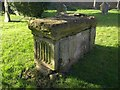 ST1502 : Chest tomb, Combe Raleigh by Derek Harper